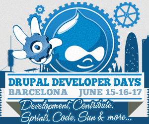 Barcelona Drupal Developer days 2012